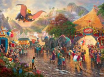 Thomas Kinkade Company and Dumbo's 75th Anniversary