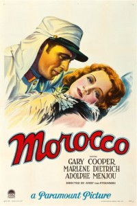 """Morocco (Paramount, 1930). One Sheet (27.5"""" X 41"""") Style B"""