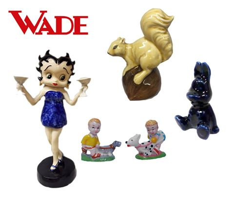 Wade Collectors' Meet 2016 special event pieces and prototypes