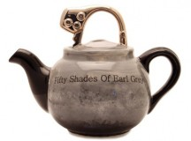 50 Shades of Earl Grey Teapot from Carters Teapots