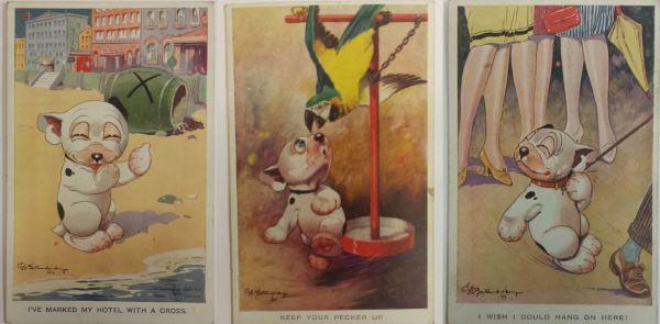 bonzo postcards