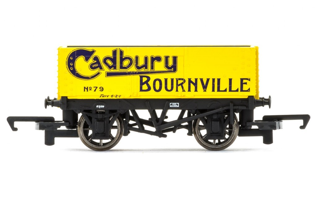 New Hornby Wagons include 6 Plank Wagon 'Cadbury Bournville'