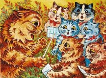 The Life and Cats of Louis Wain