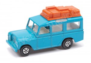 Matchbox Superfast No 12 Land Rover Safari Pre-Production Trial