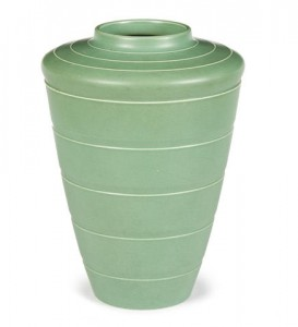 Wedgwood tapered vase by Keith Murray