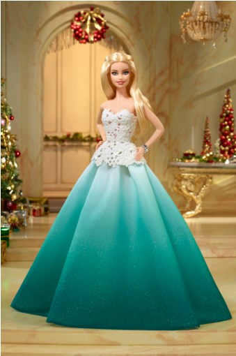 holiday barbie 2016 aqua