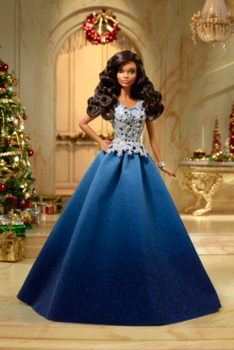 holiday barbie 2016 blue