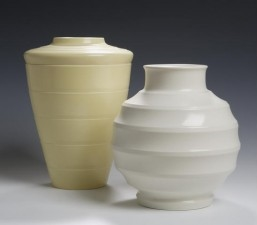 Keith Murray A Wedgwood moonstone vase