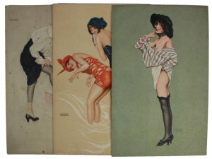 Raphael Kirchner The First Veil Flowery Sea The Stroke of the Garter