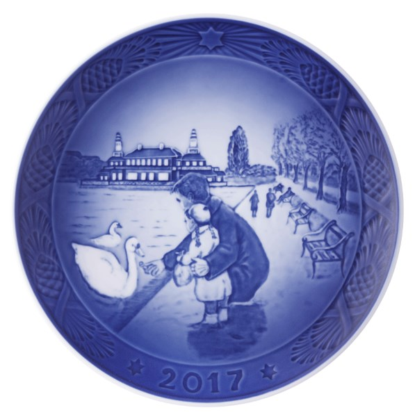 royal copenhagen plate 2017
