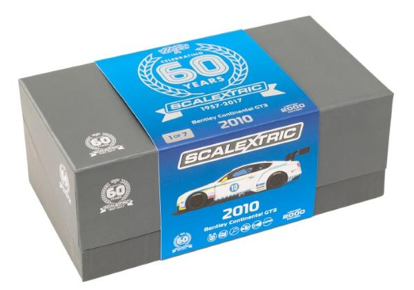 Scalextric Bentley Continental GT3 Limited Edition box