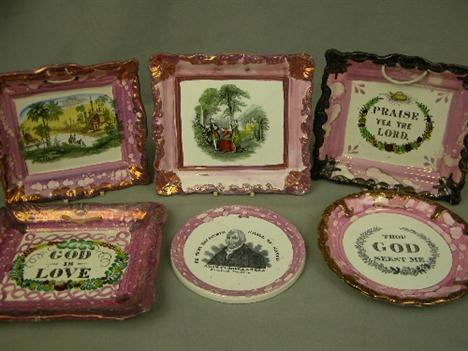 sunderland lustre wall plaques