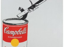 Andy Warhol's Soup Can with Can Opener (Vegetable) at Christies