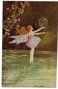 Fairy Frolic Postcard Ida Rentoul Outhwaite