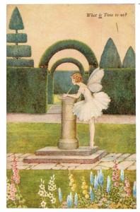 Fairy Sundial Postcard Ida Rentoul Outhwaite