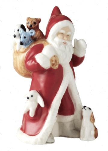 The 2017 Royal Copenhagen Christmas Santa Claus