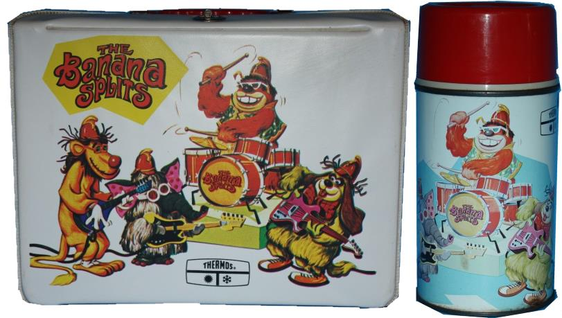1969 Banana Splits Lunch Box Thermos