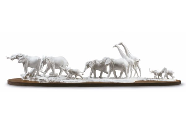 lladro african savannah