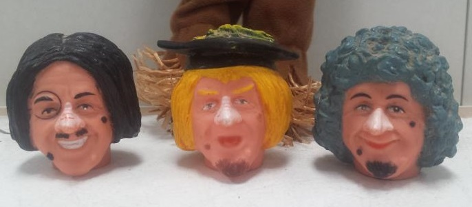 worzel gummidge heads