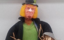 Worzel Gummidge Bendy Toy with Changeable Heads
