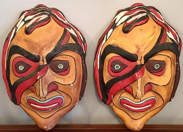 1960s Filey Butlins Beachcomber Bar Masks