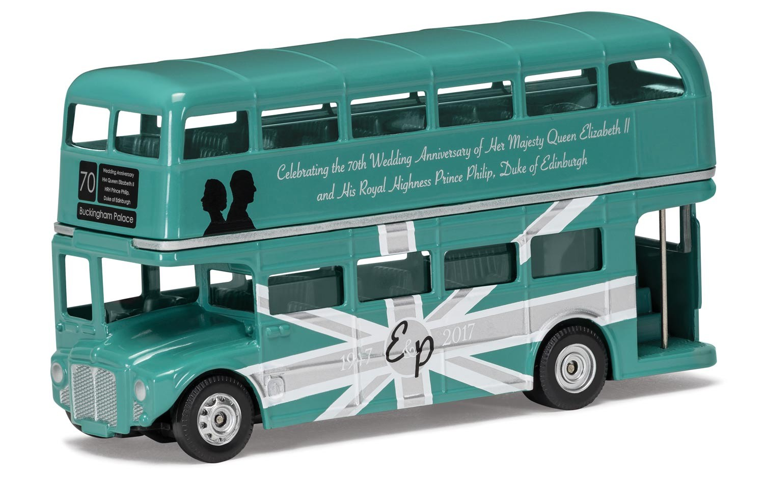 Corgi 70th Anniversary of The Royal Wedding Classic Routemaster