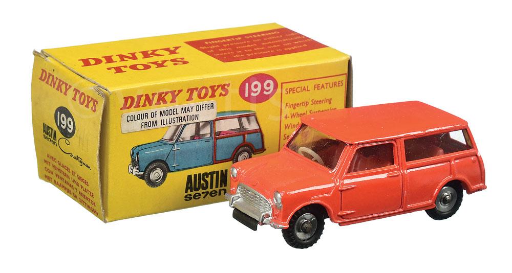 Dinky No 199 Austin Seven Countryman