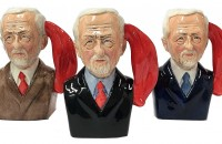 The Oh Jeremy Corbyn Character Jug from Bairstow Pottery