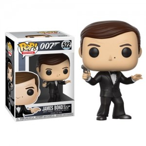 James Bond Roger Moore Pop Vinyl