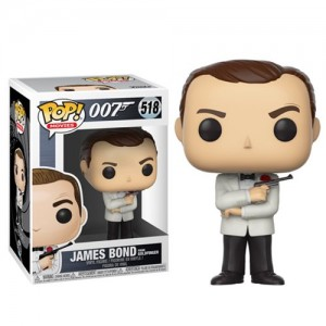 James Bond Sean Connery White Tux Pop