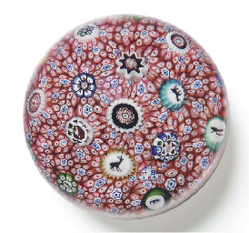 baccarat carpet ground paperweight