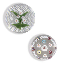 christies baccarat paperweights