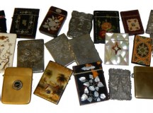Victorian Card Collection at Unique Auctions