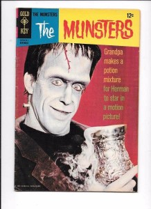 Gold Key The Munsters 15 November 1967 Herman Munster