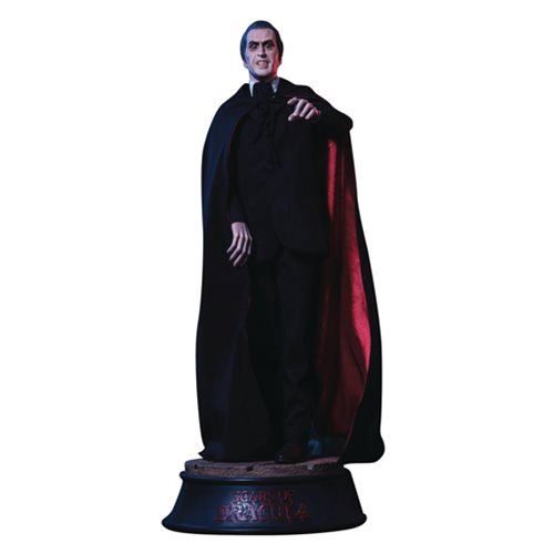 Scars of Dracula Count Dracula Statue