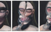 Three Studies for a Portrait by Francis Bacon at Christies
