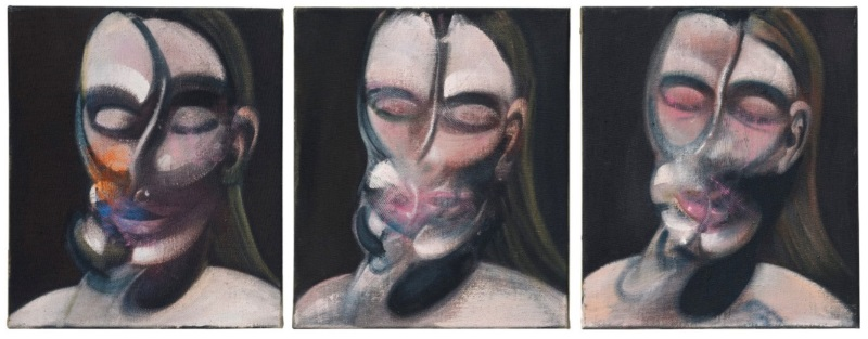 Three Studies for a Portrait by Francis Bacon