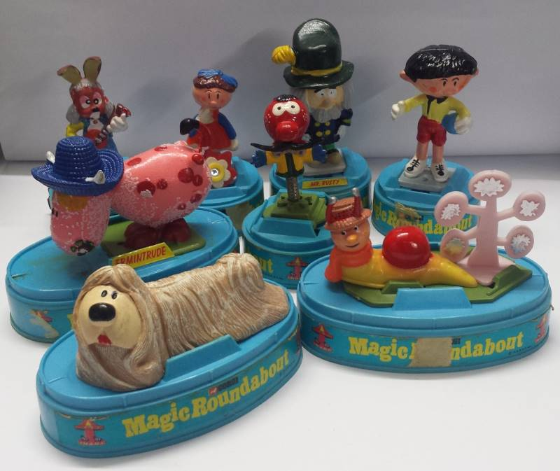 corgi magic roundabout figures