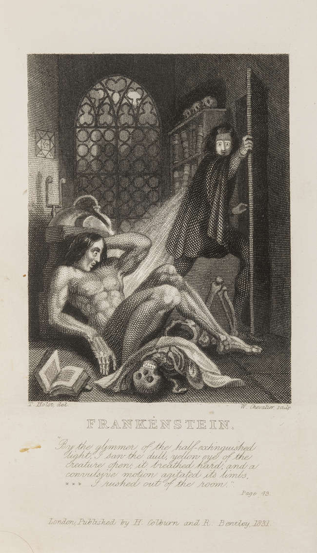 mary shelley frankenstein 1831