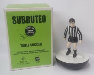 subbuteo royal doulton newcastle football player