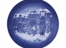 Royal Copenhagen Christmas Motif 2018