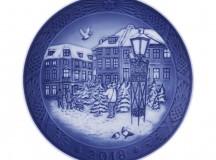 Royal Copenhagen Christmas Motif 2018