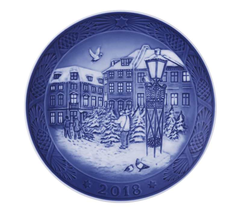 royal copenhagen 2018 plate