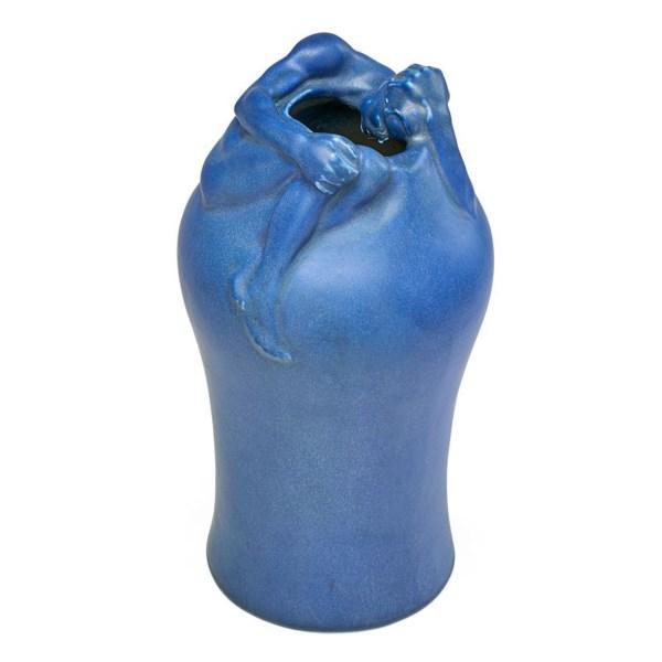 Despondency vase Artus Van Briggle