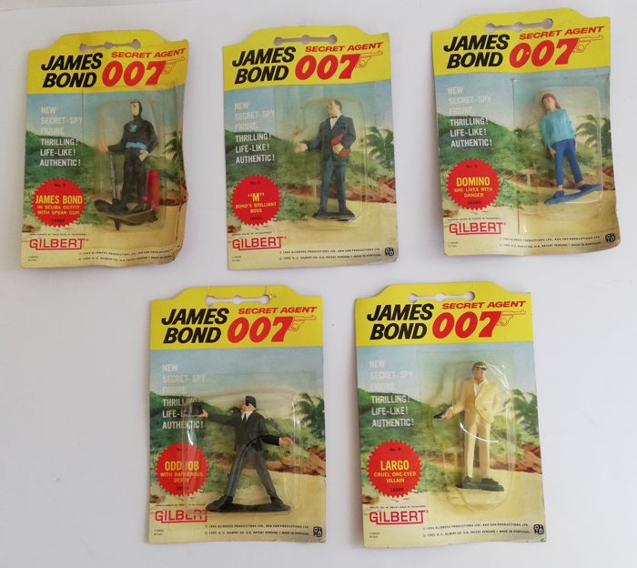 james bond 007 gilbert figures