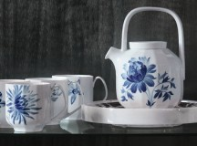 blomst a new dinnerware from Royal Copenhagen