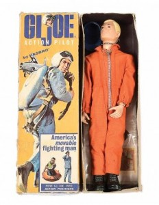 Hasbro GI Joe vintage painted head Pilot figure