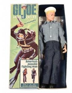 Hasbro GI Joe vintage painted head Sailor figure
