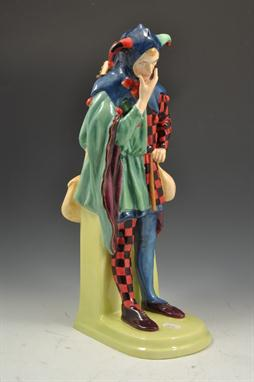 Jack Point Royal Doulton by Charkes Noke HN3925