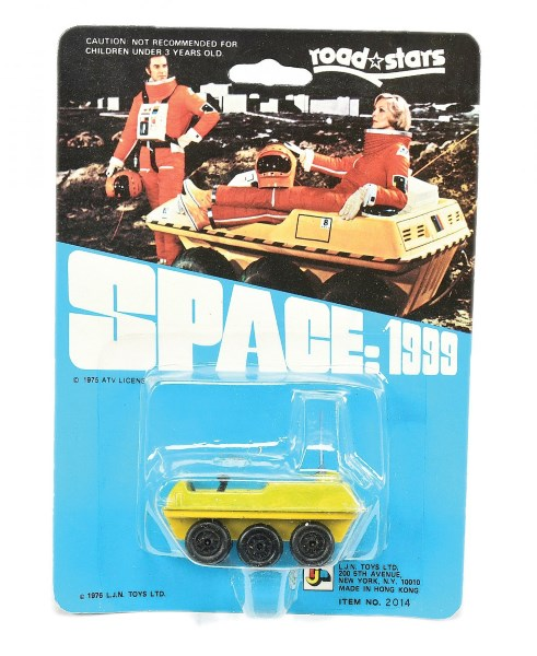 LJN Toys Ltd Space 1999 Lunar Rover finished in yellow